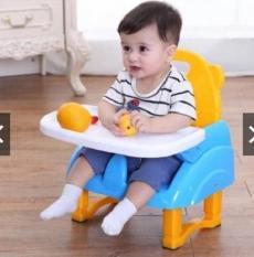 Ghế ăn dặm gấp gọn siêu nhẹ – có bàn ăn dặm, dây bảo hiểm