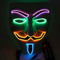 Mặt Nạ Hacker có đèn nháy 3 kiểu loại dày đẹp chắc