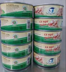 Combo 10 lon cá ngừ ngâm dầu 140g