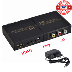 Bộ chuyển HDMI sang AV Audio Video Convert FJ-HA1308 HDMI to AV