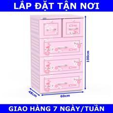Tủ nhựa Duy Tân TABI 4 tầng (New)