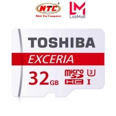 Thẻ nhớ MicroSDXC Toshiba Exceria M302 32GB U3 4K 90MB/s (Đỏ) – Nhat Tin Authorised Store
