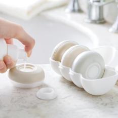 -XẢ HÀNG- Bộ 4 hộp chiết dầu gội, sữa tắm, mỹ phẩm, dễ sử dụng và bảo quản, thuận tiện khi đi du lịch hay đi chơi xa