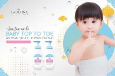 Sữa Tắm Gội Thảo Dược Cho Bé HANAYUKI – Hana Baby Top To Toe Wash