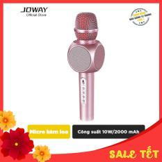 Micro karaoke tích hợp Loa Bluetooth JOWAY KGB01 cho smartphone,Samsung, iPad, iPhone – Hãng phân phối chính thức