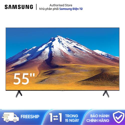 [Trả góp 0%]Smart TV Samsung Crystal UHD 4K 55 Inch 55TU6900 [Hàng chính hãng Miễn phí vận chuyển]
