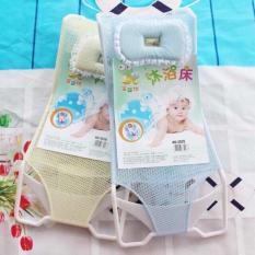 Lưới tắm cho bé sơ sinh bằng nhựa cứng không gỉ sét bền bỉ tạo cảm giác thoải mái êm ái phù hợp với tất cả các loại chậu tắm