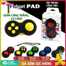 Dụng cụ Fidget Pad giúp giảm căng thẳng, lo lắp, giảm stress, tự kỷ; giúp tập trung kỳ diệu trong công việc – Fidget Pad giá rẻ, đồ chơi xả stress, rubic Fidget Cube, giao màu mẫu ngẫu nhiên – NASI Store