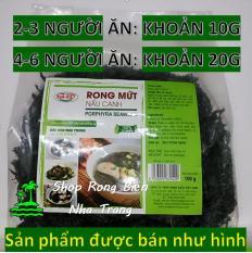 Rong Mứt nấu canh SEA Việt (100g) – Mắt sáng, ngừa loãng xương, tốt cho tim mạch