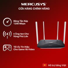 [🔥Bán Chạy 🔥]Bộ phát wifi băng tần kép chuẩn AC1200 Mercusys AC12 – Modem wifi Mercusys Cuc phat wifi Mercusys Bo phat wifi Mercusys – Hãng phân phối chính thức