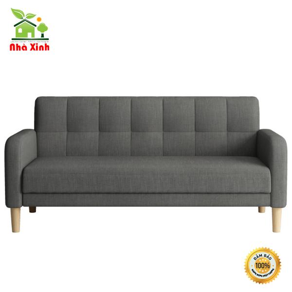 Ghế Sofa thông minh Có tay vịn – Giường Đa Năng cao cấp phong khách KT 170 x 52 cm ( Màu Xanh, Màu xám)