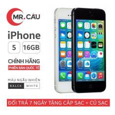 Điện thoại Apple iPhone 5 – 16GB – Bản quốc tế – Full phụ kiện – Cài Sẵn Ứng Dụng – Bảo hành 6 tháng – Đổi trả miễn phí tại nhà – Yên tâm mua sắm với Mr Cầu