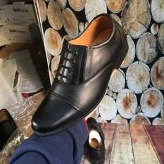 Giày Tây Da Nhám Buộc Dây Khâu Ngang Mũi Sang Trọng M574 LZD12