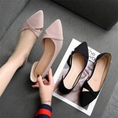 Giày bệt mũi đan kiểu dáng Hàn Quốc MÃ B7