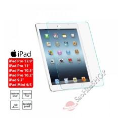 Kính cường lực cho iPad Pro 11/ 10.5/ 10.2/ 9.7/ Air 1,2,3/ Mini 1,2,3,4,5 (Trong suốt) (CLMTB)