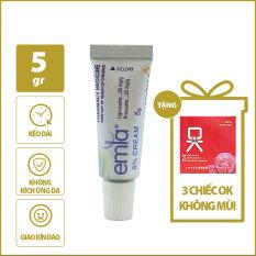 (Chai 5g) Tinh Chất Chống Xuất Tinh Sớm Cream 5% + Tặng 1 hộp BCS nhỏ 3 chiếc – [GUNSHOP]