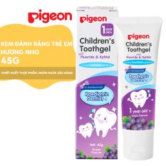 Kem đánh răng trẻ em Pigeon – Hương Nho