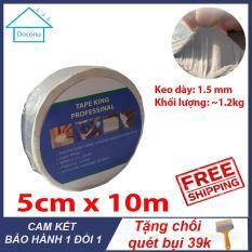 Băng Keo | chống thấm -chống dột- siêu dính | 5cm x 10m |Tặng chổi sơn 39k – DOCONU – Băng keo chống thấm,băng keo chống dột [ CAM KẾT BẢO HÀNH ]
