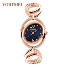 Đồng hồ nữ lắc tay đính đá YOHEMEI CH373 – D1A