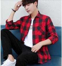 Áo sơ mi caro nam phong cách Hàn Quốc SM13