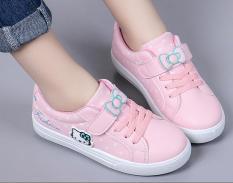 Giày thể thao phong cách đi học cho bé gái từ 4 – 13 tuổi -TS5