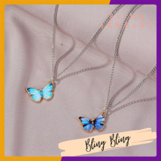 Dây chuyền bướm phong cách Hàn Quốc BLACKPINK LISA cá tính trẻ trung năng động