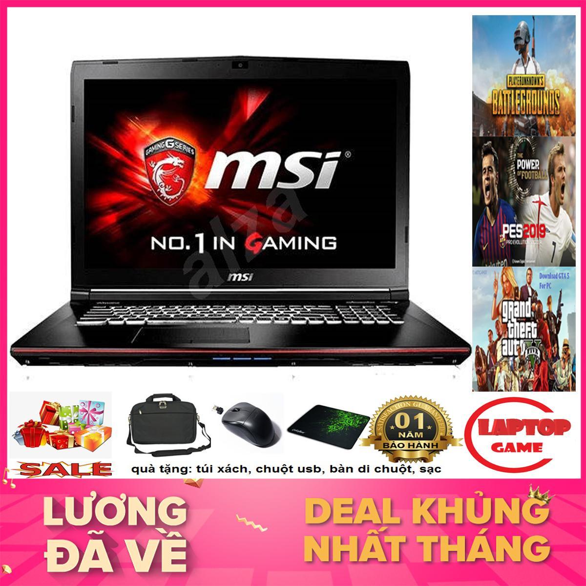 Khủng Game MSI GP62 6QG (Core i7-6700HQ,Cad GTX 965M , RAM 8GB, HDD 1TB, Màn 15.6 inch Full HD )...