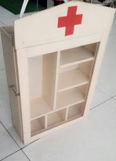 Tủ thuốc y tế CAO CẤP MEKA NHẬT + GỖ THỊT { RƠI KHÔNG VỠ }