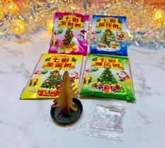 Set 4 bịch cây thông nở tuyết Noel đồ chơi tuổi thơ