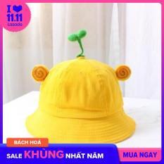 Nón Bucket Gắn Cây Mầm hot trend vòng đầu 58cm, phù hợp cho nam và nữ, Mũ Mầm Cây (Nhiều màu, size người lớn)
