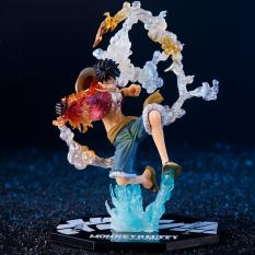 Mô hình Figure Luffy Hàng Chuẩn – Fire Battle One Piece – Monkey D Luffy – Trạng Thái Chiến Đấu Cao HCM