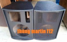 1 CẶP THÙNG 30 MARTIN F12 SƠN SẦN