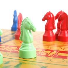 Bộ bàn cờ cá ngựa giải trí kèm bàn xếp gọn loại lớn