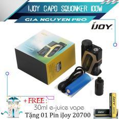 Box Mod iJoy Capo Squonker 100w (Hàng Authentic)