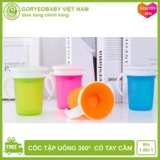 Cốc tập uống cho bé 360º DRINK CUP Có Tay Cầm an toàn, tiện lợi