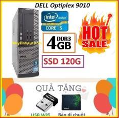 Thùng Dell optiplex 9010 Core i5 3470 / 4G / SSD 120G , Khuyến Mai USB wifi , Bàn di chuột – Bảo hành 02 Năm