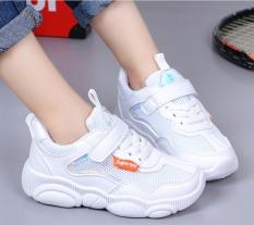 Giày thể thao bé gái dạng lưới, êm chân thoáng mát cho bé từ 3 đến 14 tuổi 023