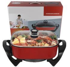 Bếp lẩu nướng điện đa năng 1600W BHTLBIS Y1289 Chiên – Rán – Nướng – Lẩu