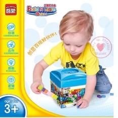 Bộ đồ chơi lắp ghép bộ lego cơ bản 460 chi tiết shop tiện ích 86