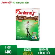 [GIẢM 25K ĐƠN 399K + TẶNG LỐC ANLENE] Hộp sữa bột Anlene Gold Movepro Chocolate 440g chứa dưỡng chất thiết yếu hỗ trợ hệ Cơ-Xương-Khớp phát triển khỏe mạnh bổ sung Canxi và Ma-giê dành cho người trên 40 tuổi