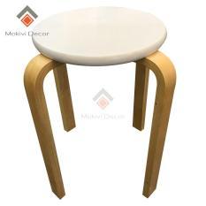 Ghế gỗ mặt tròn – ghế phòng ăn – ghế cafe