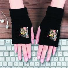 Găng tay len in hình One Punch Man Cú Đấm Hủy Diệt anime chibi thời trang chất đẹp