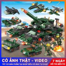 [Có Video] [Galashop] Lego Giá Rẻ, Bộ Đồ Chơi Lắp Ráp Xe Tăng Lego 321 Chi Tiết Bền Đẹp Xếp Được 18 Mô Hình, Chuỗi Lego Robot, Lego Xe Tăng Giá Rẻ Tận Xưởng cho bé nhiều trải nghiệm thú vị.