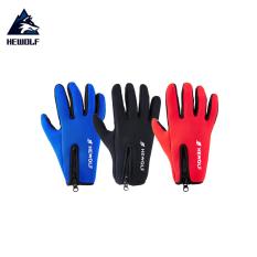 Găng tay giữ ấm mùa đông Hewolf HW1756 đạp xe, leo núi hàng chính hãng dành cho cả nam và nữ