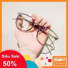 Gọngkính cận bo tròn nhựa dẻo 209 – Tiệm kính Candy