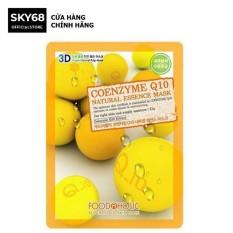 Mặt Nạ Dưỡng Trắng Da, Ngăn Lão Hóa 3D Coenzyme Q10 Foodaholic Mask 23ml
