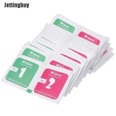 Jettingbuy 30 Cái/lốc Ống Kính Máy Ảnh Làm Sạch Vải Màn Hình LCD Loại Bỏ Bụi Giấy Lau Khô Ướt