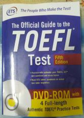 The Official Guide to the TOEFL Test, 5th Edition (with audios)