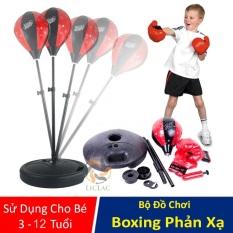 Bộ đồ chơi Đấm Boxing tăng khả năng phản xạ cho bé, Đồ chơi quyền anh Boxing Boy , Đồ chơi thể thao giải trí trong nhà – LICLAC