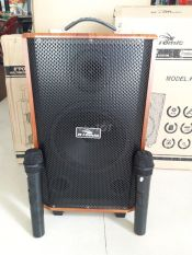 [Được thử hàng] Loa kéo karaoke Kiomic k88 thùng gỗ bass siêu hay tặng kèm 2 mic không dây